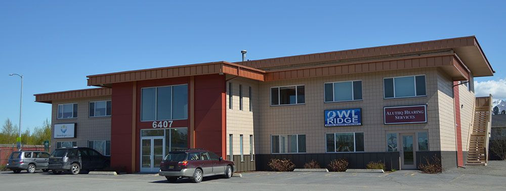 Alutiiq Hearing Services is located at 6407 Brayton Drive, Suite 104 Anchorage, Alaska